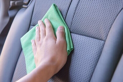 czyszczenie foteli samochodowych